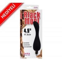 Black Mont Titreşimli Anal Tıkaç (Plug) - HEDİYELİ