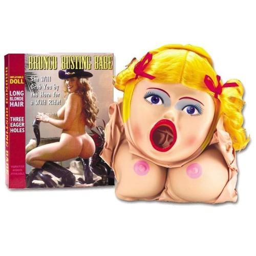 Bronco Busting Şişme Kadın