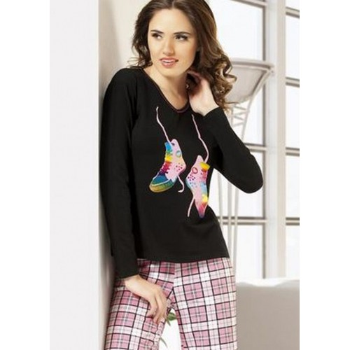 Derya Kurşun 706 Bayan Pijama Takım