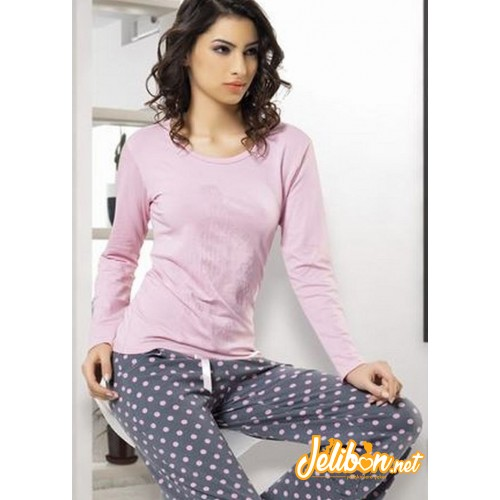 Derya Kurşun 707 Bayan Pijama Takım