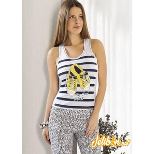Derya Kurşun 716 Bayan Pijama Takım