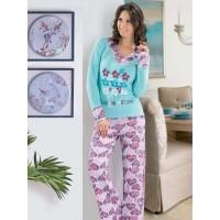 Derya Kurşun 761 Pijama Takım