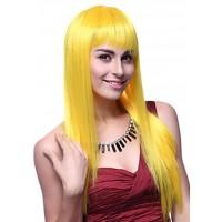 Fantazi Düz Altın sarısı Peruk