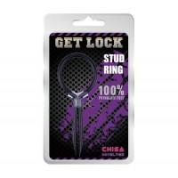 Get Lock Stud Ring Penis Sıkıştırma Halkası
