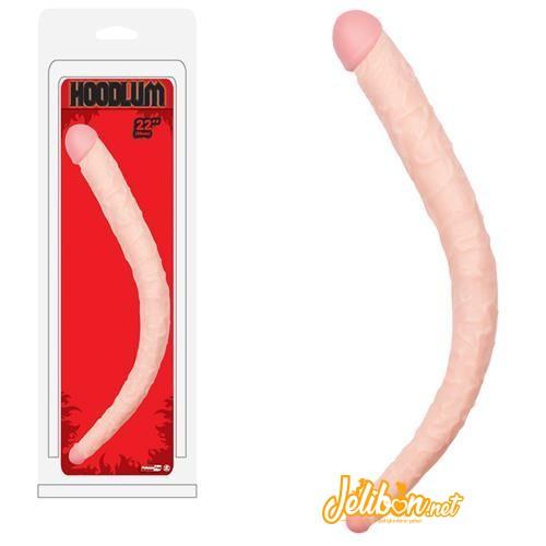 Hoodlum 56 cm Çift Taraflı Dildo