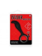 Invader Prostate Plug Siyah Anal Tıkaç II
