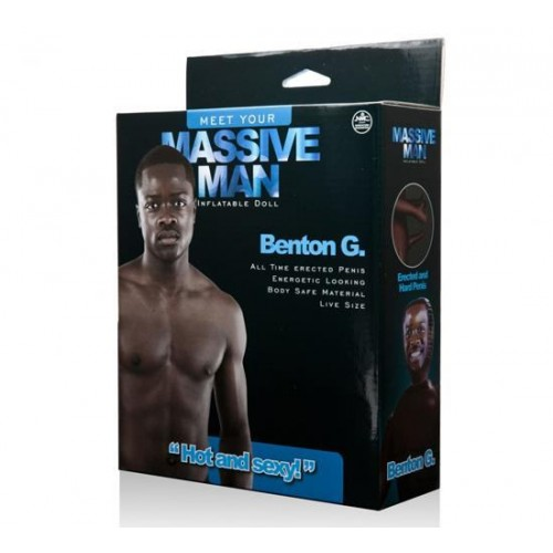 Massive Man Erkek Şişme Bebek - Benton G.