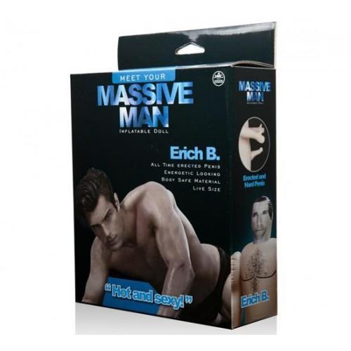 Massive Man Erkek Şişme Bebek - Erich B.