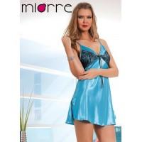 Miorre 18371 Saten Gecelik Takım