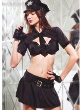 Missvera 9043 Fantazi Kadın Polis Kostüm