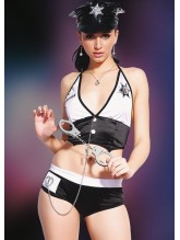Missvera 9118 Fantazi Kadın Polis Kostüm
