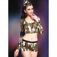 Missvera 9125 Fantazi Asker Kız Kostüm