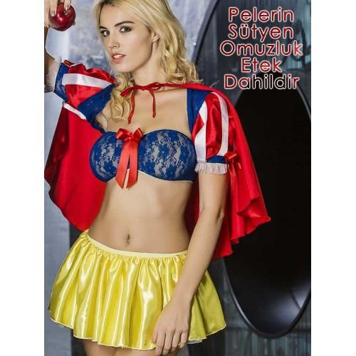 Moonlight 9071 Fantazi Süper Girl Kostümü