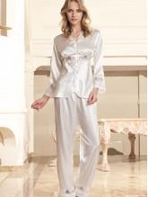 Nurteks 5675 Saten Pijama Takım