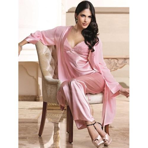 Nurteks 5935 Saten Pijama Takım