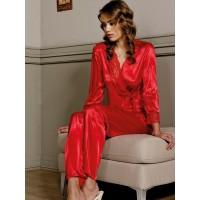 Pierre Cardin 1111 Saten Pijama Takımı