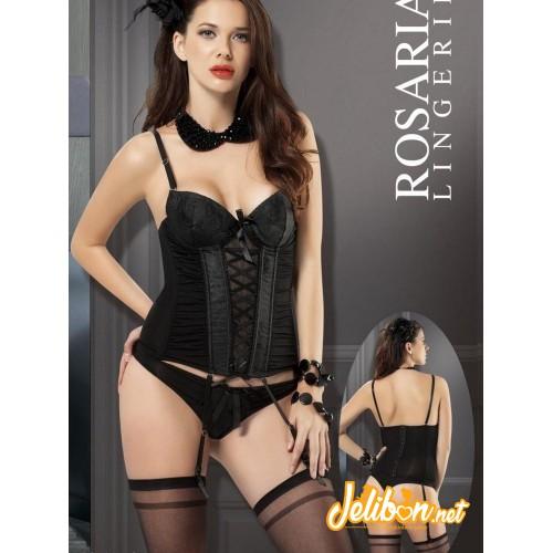 Rosaria 2156 Fantazi Jartiyer Büstiyer Takım