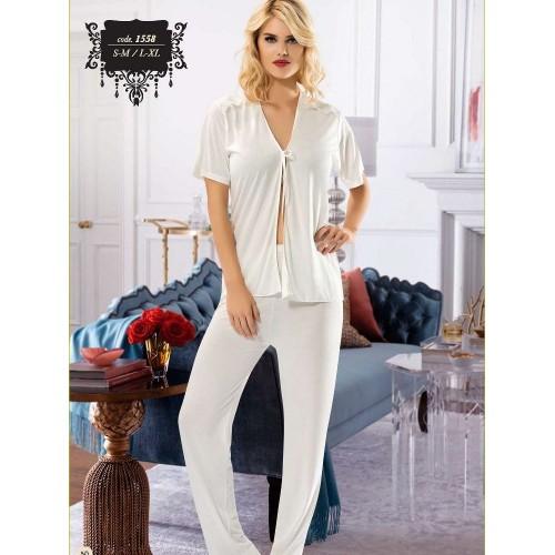 Sistina 1558 Penye Pijama Takım