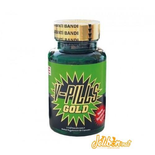 V-Pills Gold Erkeklik Geliştirici Bitkisel Kapsül