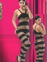 Vip Lingerie 2136 Fantazi Vucüt Çorabı