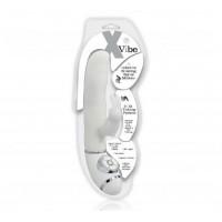 X Vibe Klitoral Uyarıcılı Çift Motorlu Teknolojik Vibratör - Beyaz