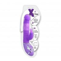 X Vibe Klitoral Uyarıcılı Çift Motorlu Teknolojik Vibratör - Mor